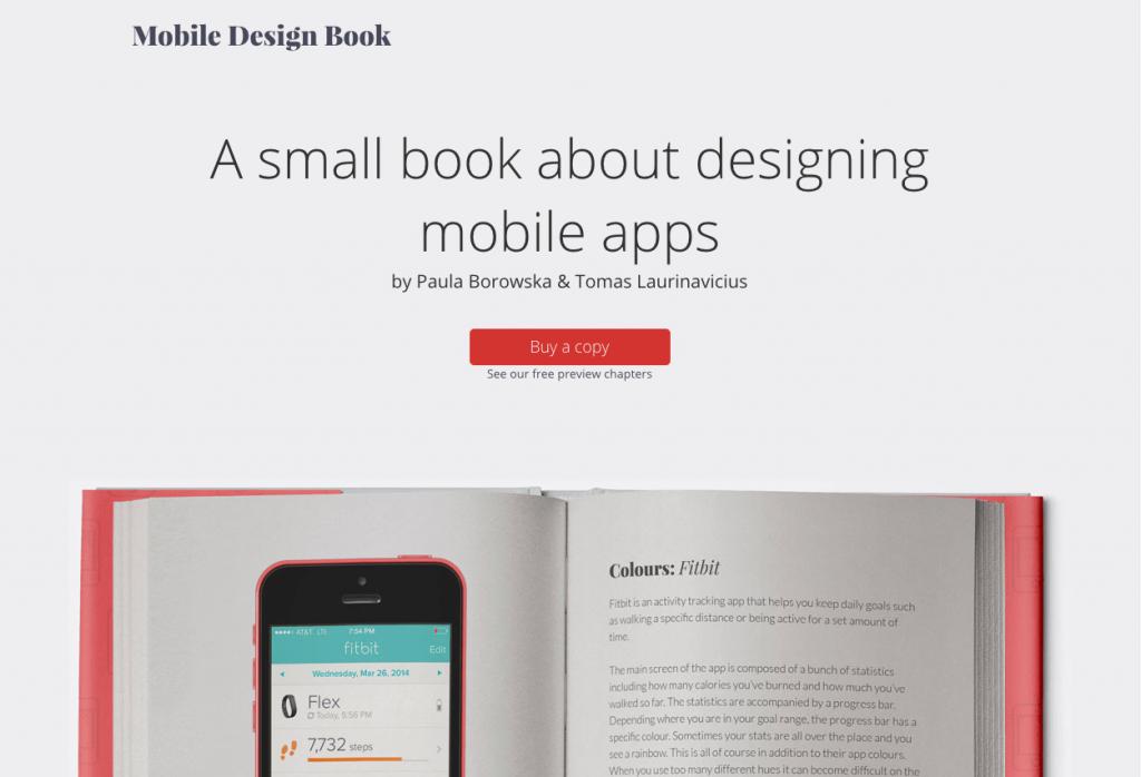 mobiledesignbook.com Home Page