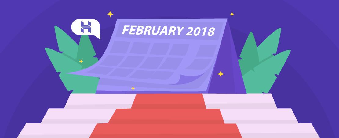 Hostinger Monthly Roundup: February 2018