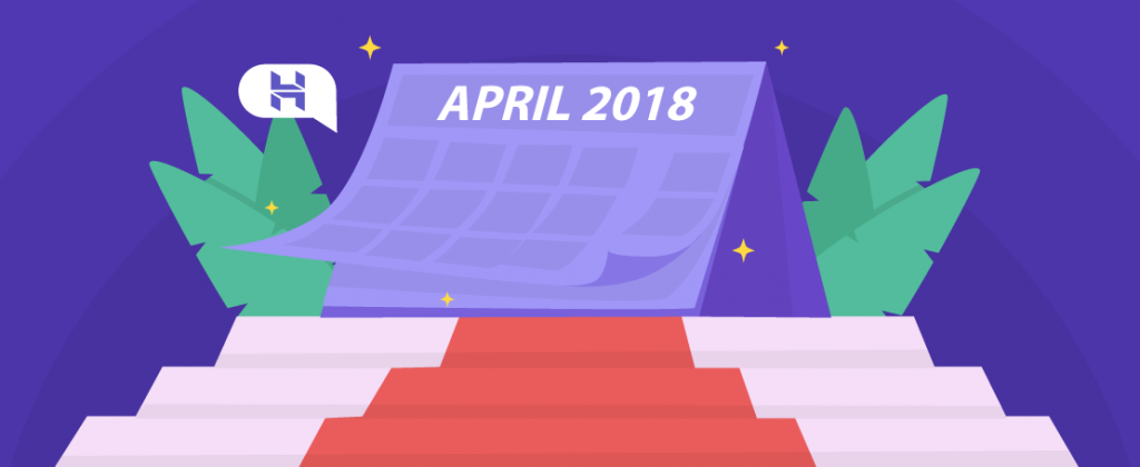 Hostinger Monthly Roundup: April 2018