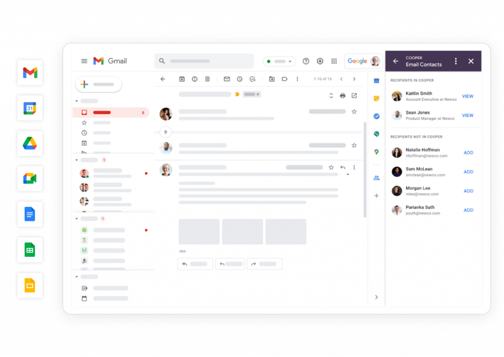 Google Workspace Dashboard