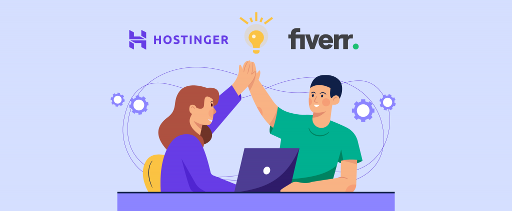 Hostinger Is Partnering With Fiverr
