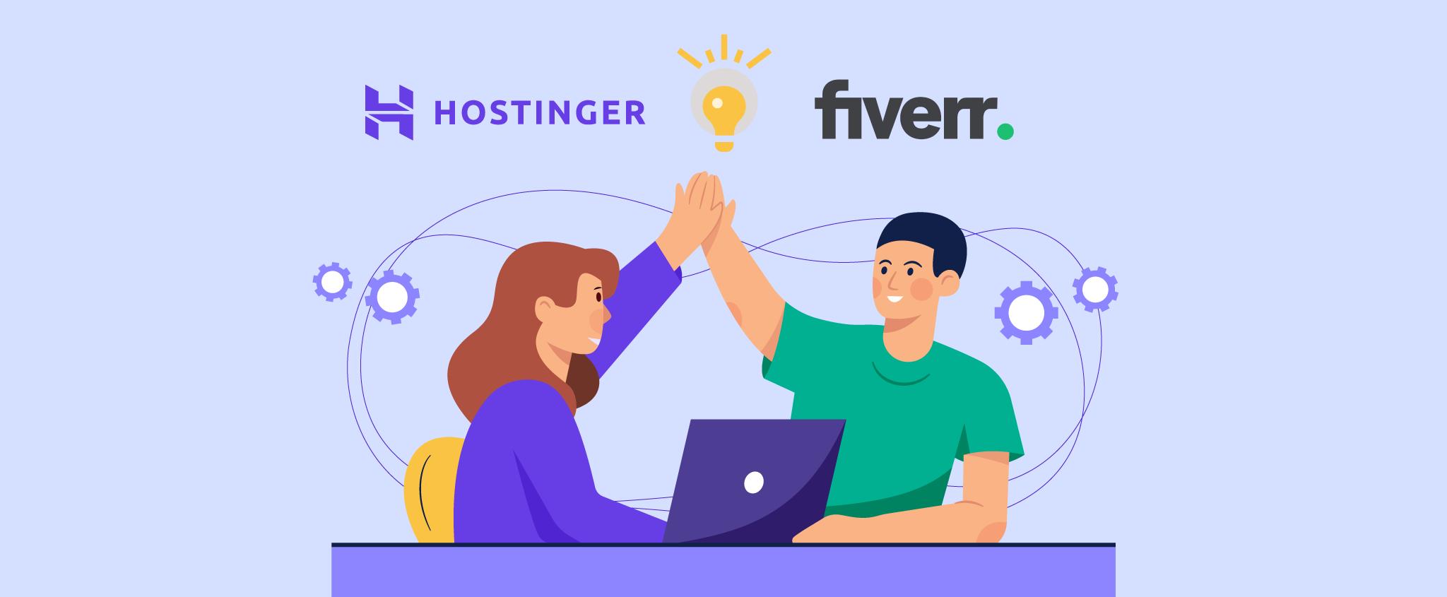 Hostinger Is Partnering With Fiverr