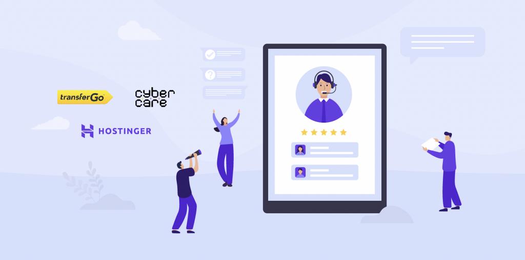 Success Driven: Hostinger, CyberCare and TransferGo