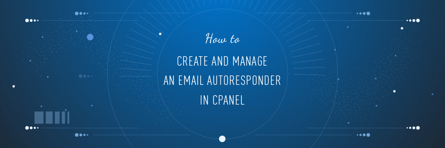 How to Create And Manage an Email Autoresponder in cPanel