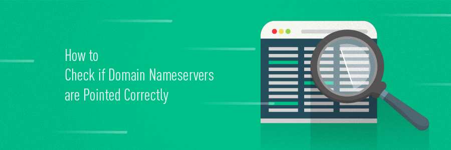 How to Check If Domain Nameservers Are Pointed Correctly