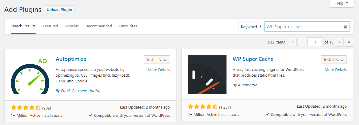 This image shows you how to search a plugin in WordPress dashboard