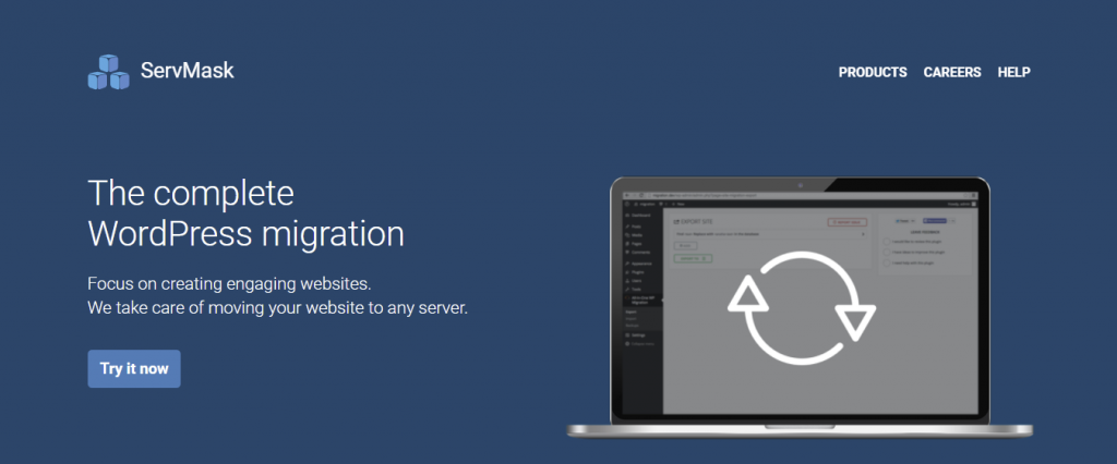 """All in One WP Migration Plugin Homepage - """"The complete WordPress migration"""""""