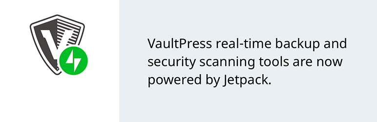 "VaultPress plugin - ""Real time backup and security scanning"""