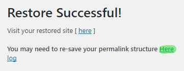 wordpress-backup-restore-success