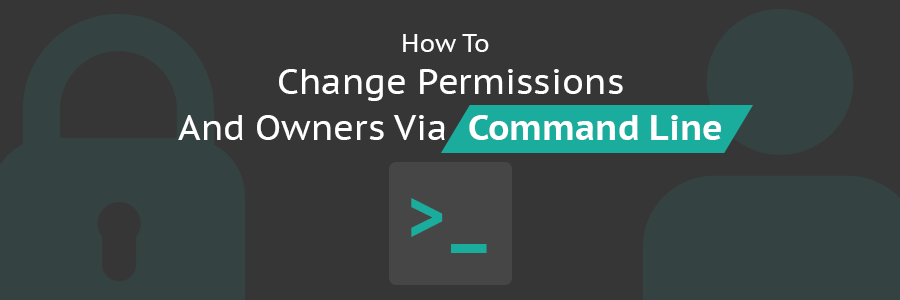 How to Change Permissions and Owners via Command Line