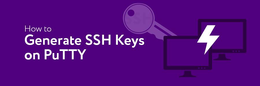 puttygen create ssh key