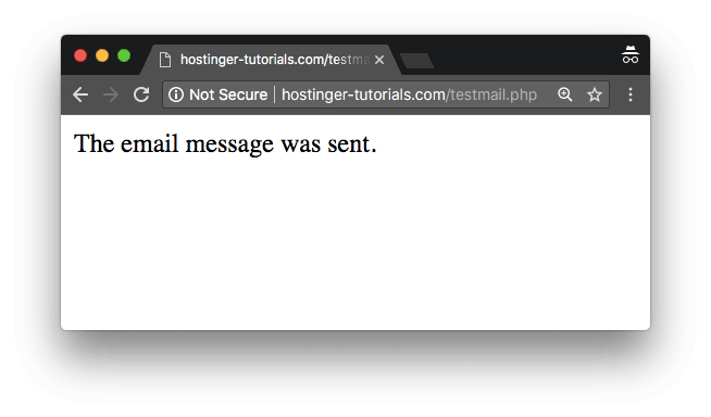 test-php-mail-success
