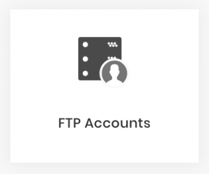 Tài khoản FTP