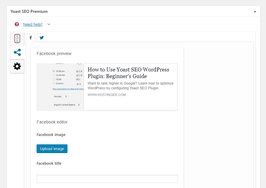 how to use Yoast SEO's social media preview configuration