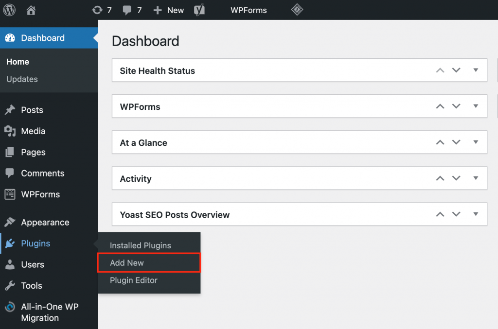 Adding a new plugin on hPanel