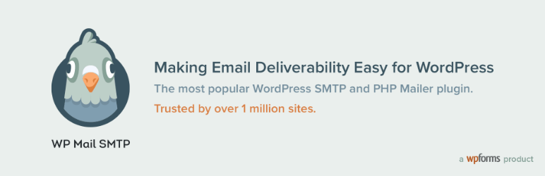 wp smtp mail plugin banner