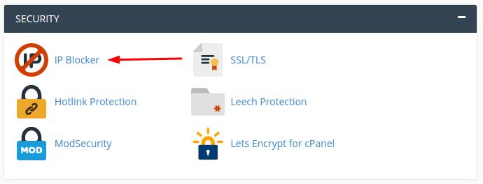 IP Blocker Feature