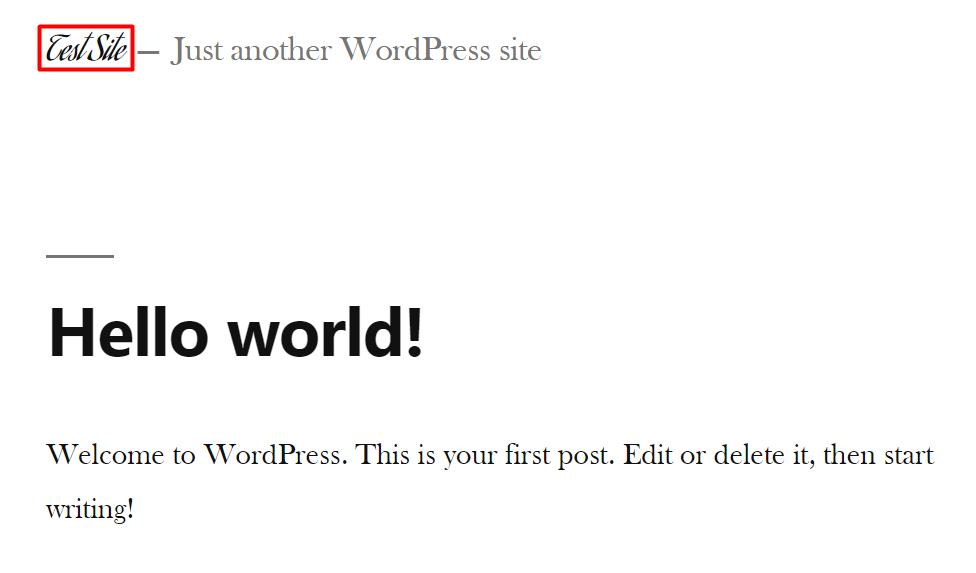 Aguafina Script font example in WordPress