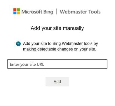 Submitting XML sitemap to Bing