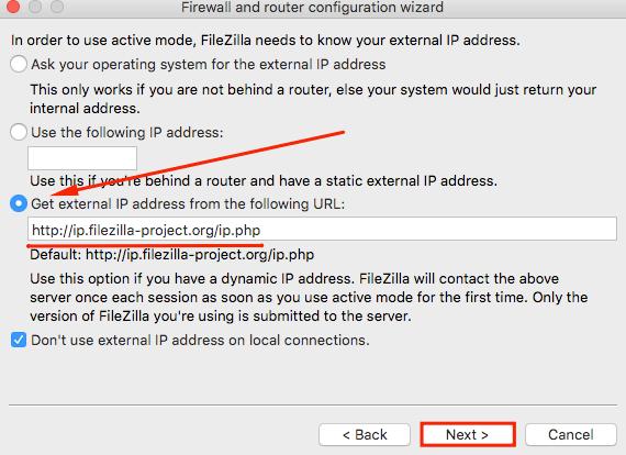 External IP