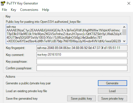 How to Generate SSH Keys on PuTTY