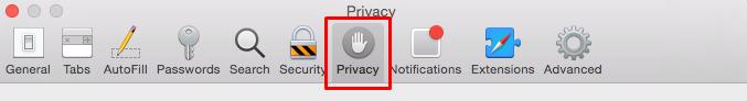 Privacy location