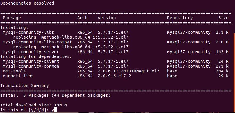 How to Install MySQL on CentOS 7