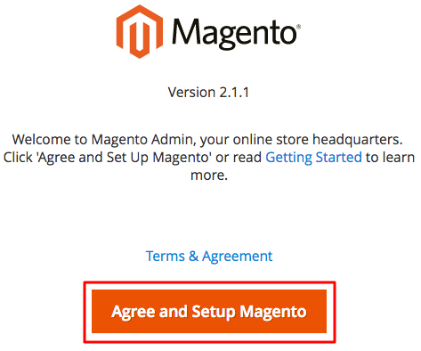 Magento Agree Button