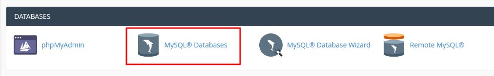MySQL Datanases location
