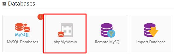 phpmyadmin location in hostinger