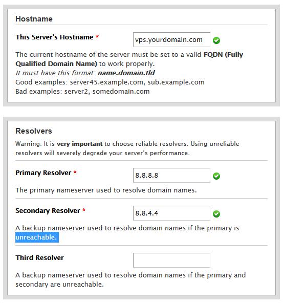 Google DNS Setup