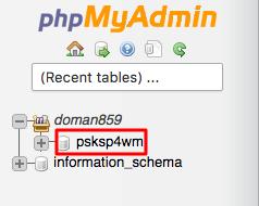 Select PrestaShop Database