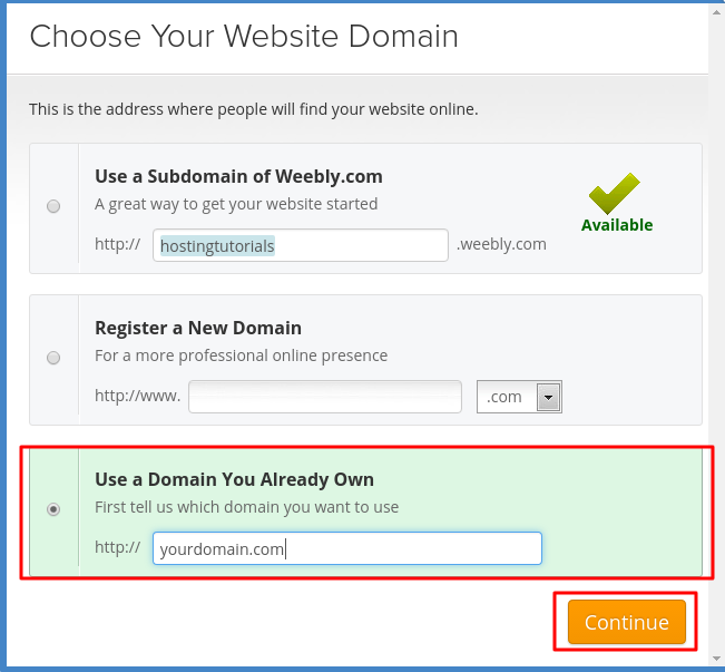 Saving Changes in Weebly