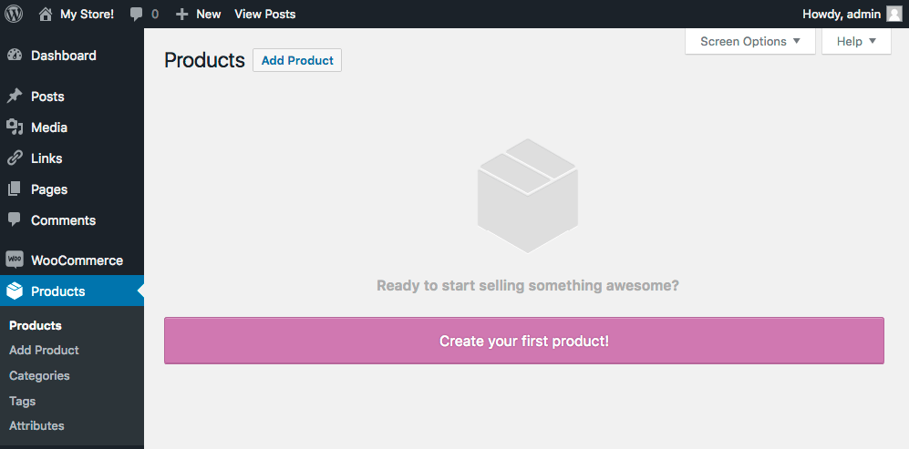 WooCommerce Adding A New Product