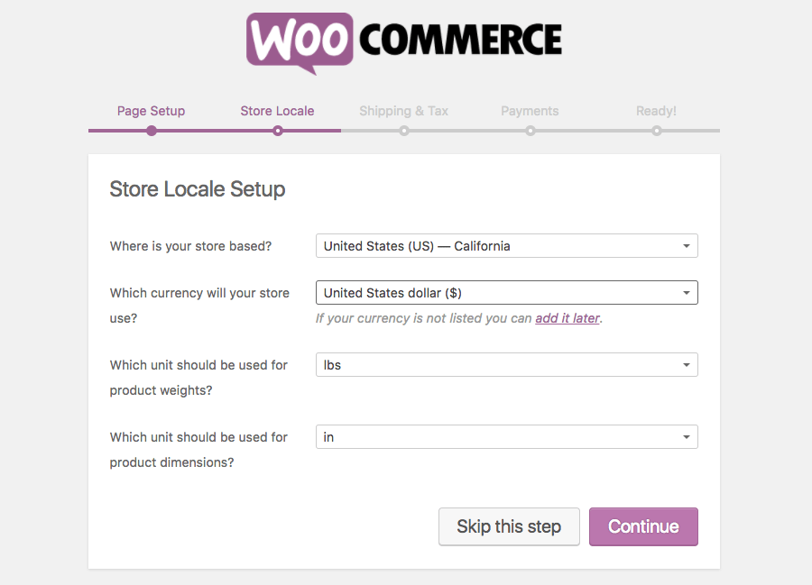 Location Configuration for WooCommerce Plugin