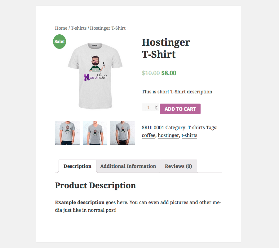 WooCommerce Product Page Preview