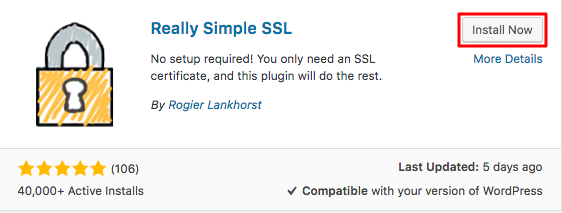 WordPress Really Simple SSL