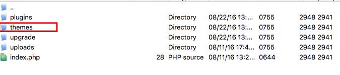 WordPress Tema Dosyası