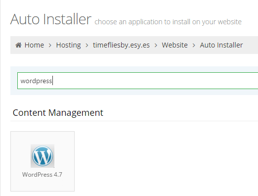 Finding WordPress Autoinstaller