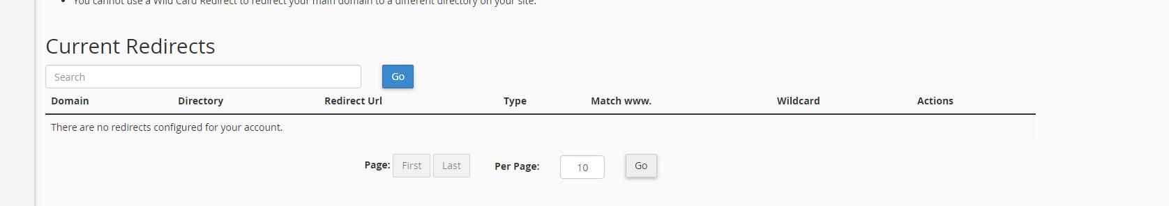 Aktifkan pengalihan redirect URL sebelum ditambahkan