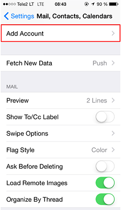 how to add iphone to amazon account