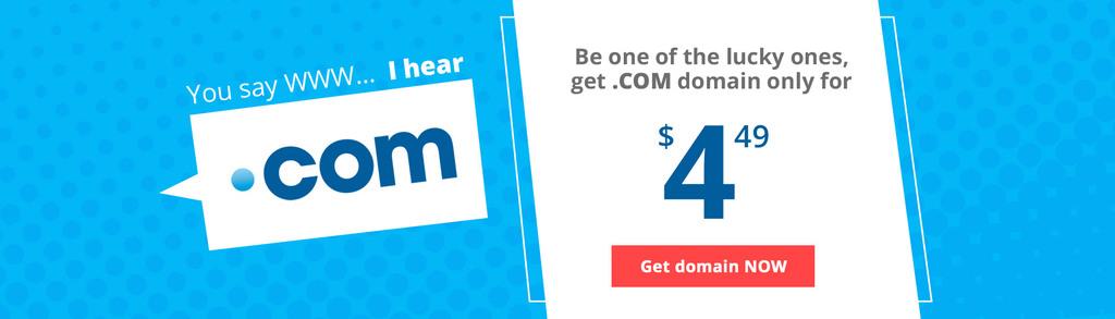 Com Domain Sale