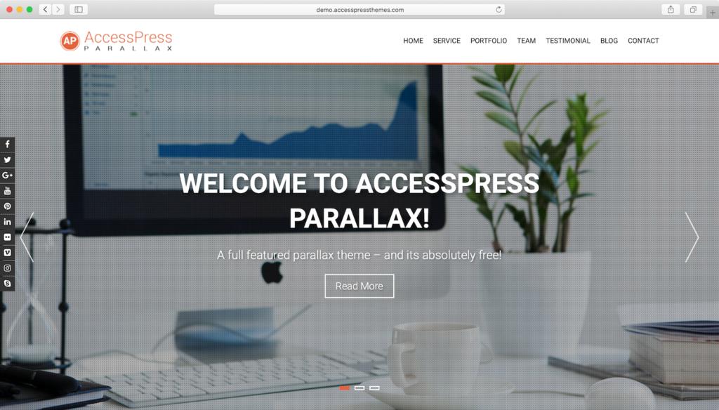Responvie WordPress theme Kumle