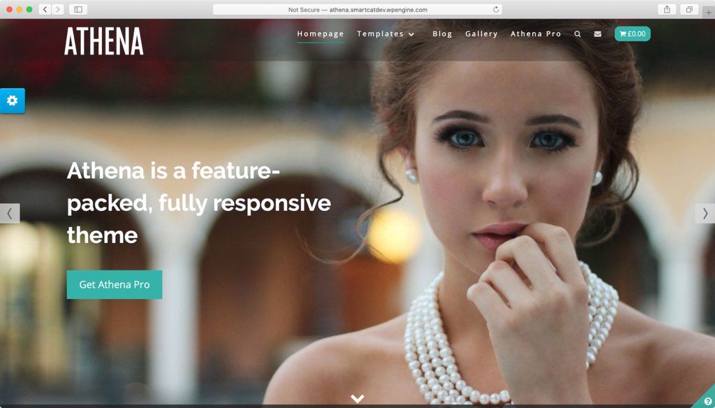WordPress theme Athena