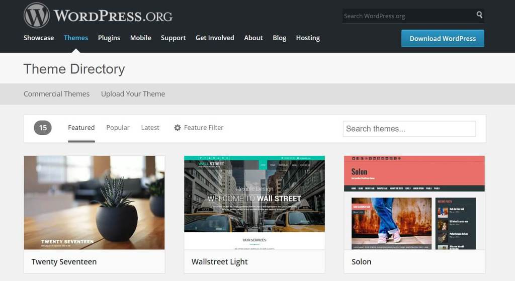 Download Template WordPress Gratis dan Terbaik