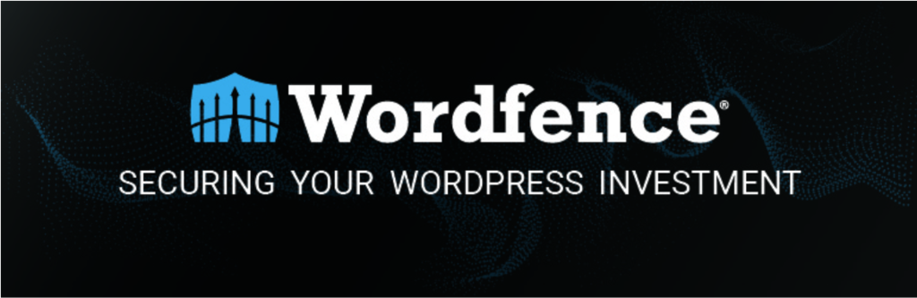 Banner of Wordfence, one of the best WordPress security plugins