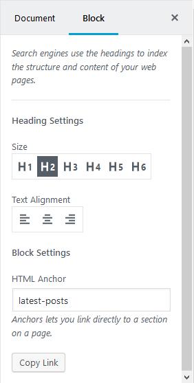 HTML Anchors