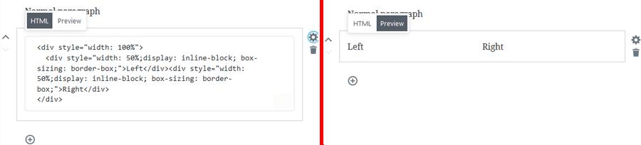 Inline HTML Editor