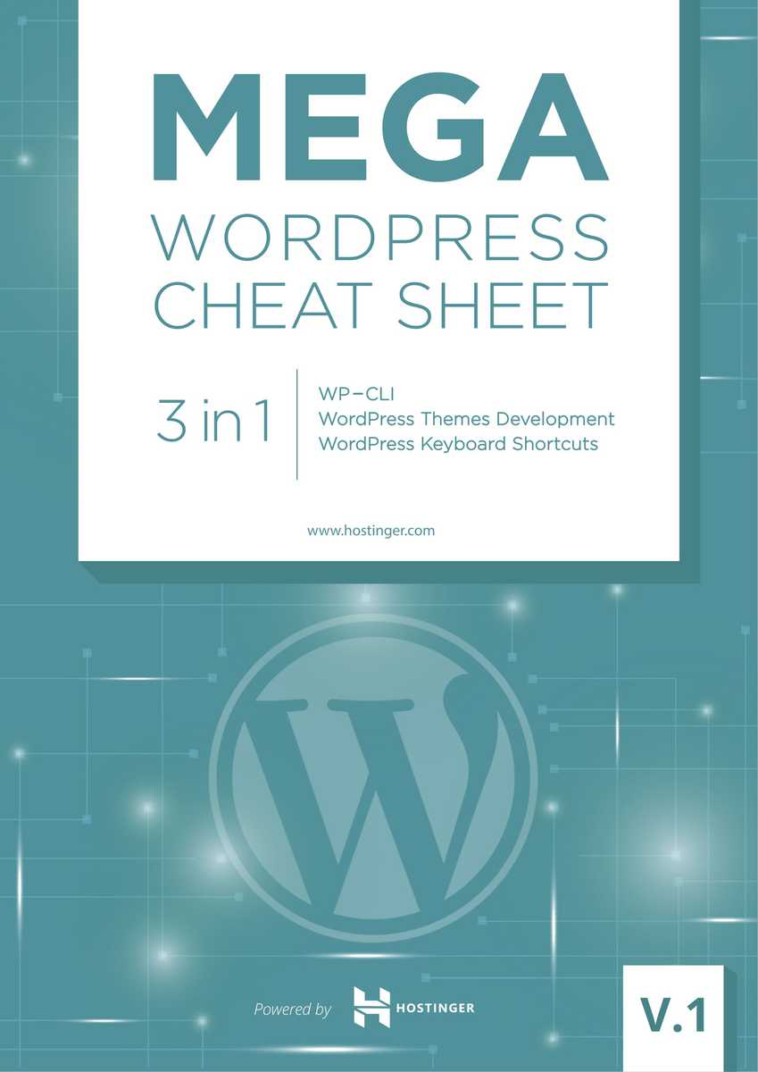 The ultimate wordpress cheat sheet 3 in 1 in pdf and jpg 2018 mega wordpress cheat sheet maxwellsz