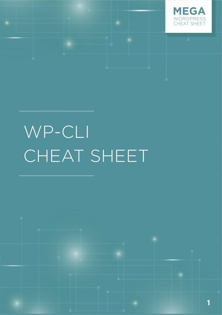 WP-CLI Cheat Sheet